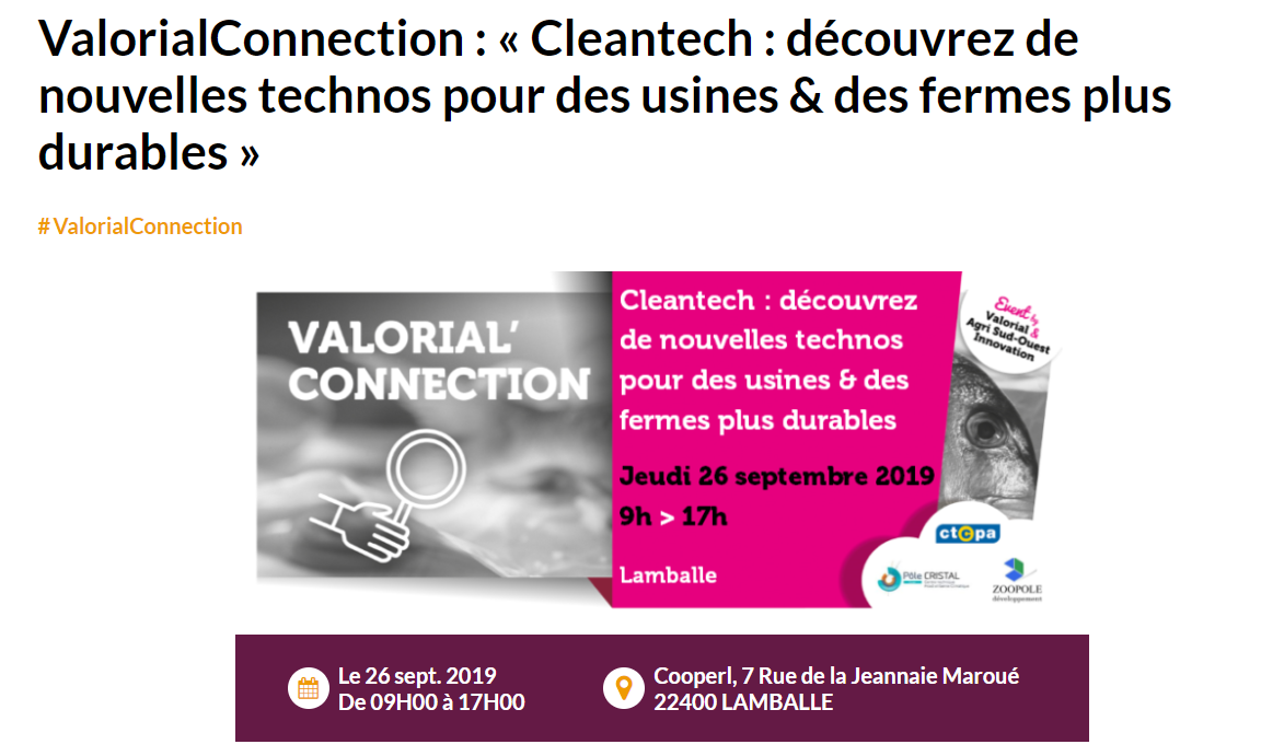 ValorialConnection: Intervention d'Elodys